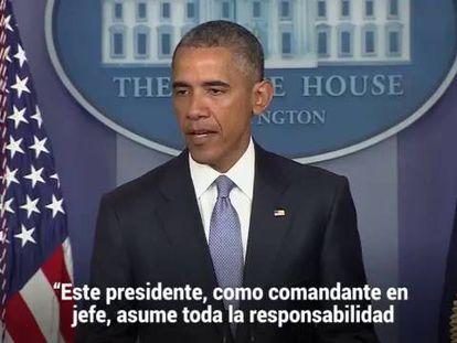 Obama admite que EE UU mató por error a dos rehenes occidentales