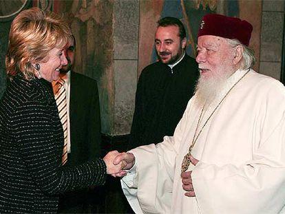 Aguirre con Teoctist I