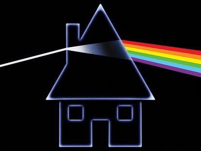 Portada imaginada por el diseñador Javier Aramburu para 'Household Objects', el disco de Pink Floyd nunca terminado.