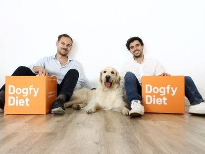 Sergi Font (izquierda) y Gonzalo Noy, fundadores de Dogfy.