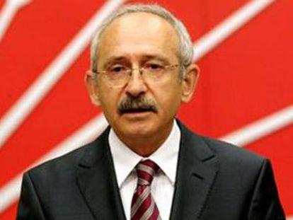 Kemal KiliÇdaroglu, líder del Partido Republicano del Pueblo.