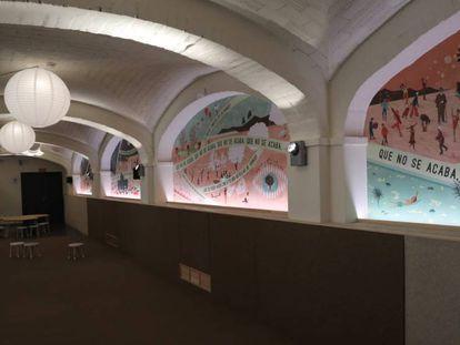 En la imagen, la Urbanoteca, uno de los espacios de los que se compone el nuevo centro cultural.