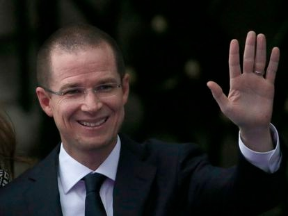 El líder de la oposición, Ricardo Anaya, en una imagen de archivo.