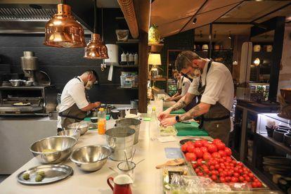 El Invernadero, restaurante galardonado con una estrella Michelin.