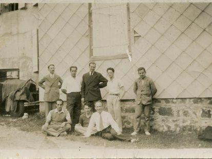 Foto tomada en el congreso fundacional de Bourbaki en 1935.