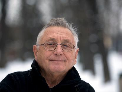 El cineasta Jirí Menzel, retratado en Praga en febrero de 2013.