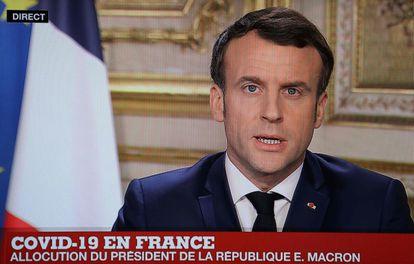 El presidente francés, Emmanuel Macron, ha pronunciado un discurso a la nación sobre el coronavirus