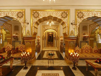 El Raj Palace, en Jaipur.