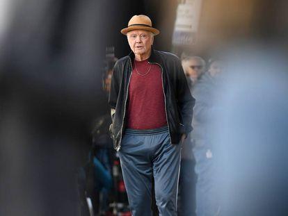 El actor Jon Voight en Nueva York el pasado día 4.