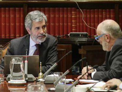El órgano de gobierno de los jueces se fractura ante la propuesta del Gobierno de Sánchez