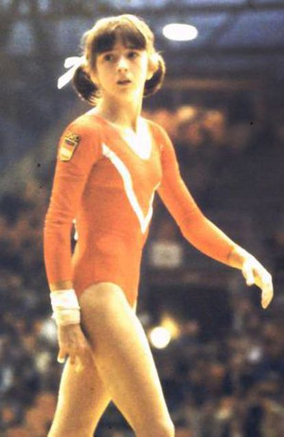 Gloria Viseras, en 1978