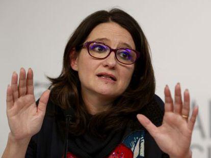 La vicepresidenta del Gobierno valenciano, Mònica Oltra.