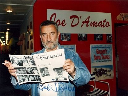 Joe D'Amato, en una imagen del documental.