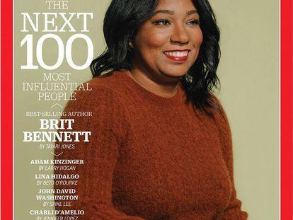 En marzo Brit Bennett fue portada de la revista Time en su selección de las personas más influyentes del año.