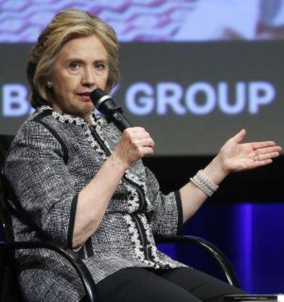 Hillary Clinton, en un evento el pasado mayo.