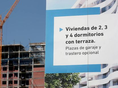 Promoción de vivienda nueva en Valencia.
