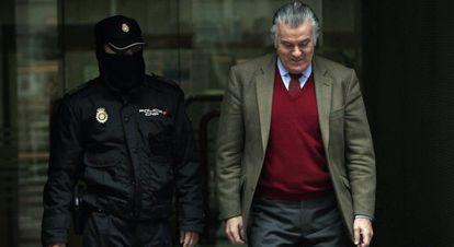 El extesorero del PP Luís Bárcenas, el pasado 1 de mayo.