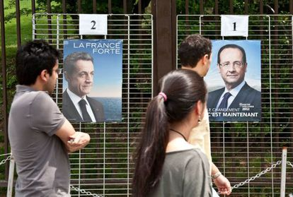 Todo listo para la segunda vuelta de las elecciones francesas.