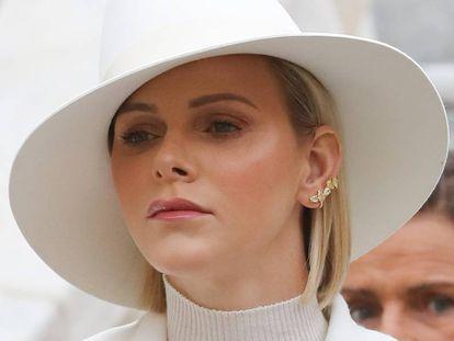 Charlène de Monaco, en el día del Principado, celebrado el 19 de noviembre.