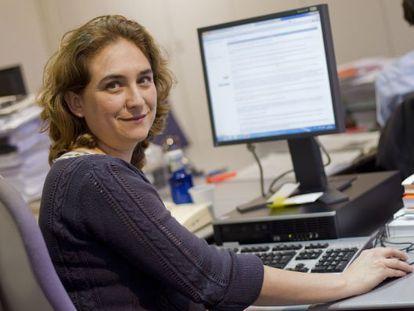 Ada Colau ha mantenido una charla con los lectores de EL PAIS
