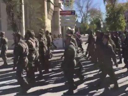 Izquierda Unida exige a las autoridades militares una disculpa formal tras el paso del cuerpo militar africano al que acudieron niños