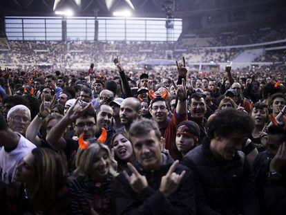 Público en el concierto de ACDC en Sevilla.