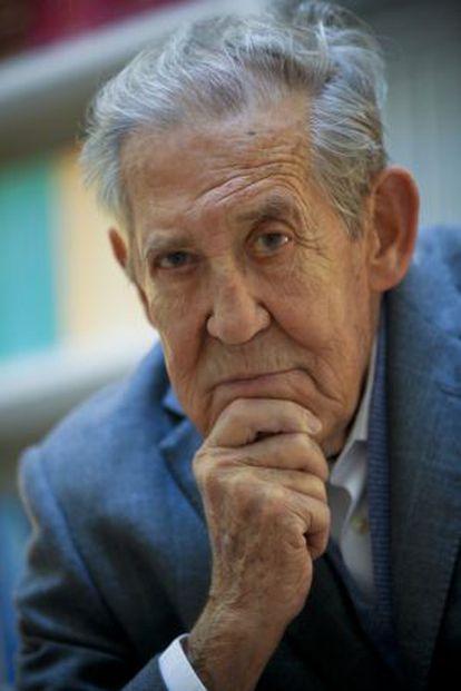 Francisco Rubio Llorente en la Fundación Ortega y Gasset.