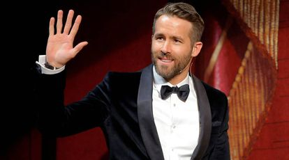 El actor Ryan Reynolds.