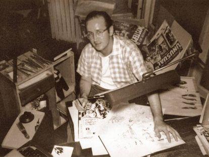 Steve Ditko en una foto de archivo.