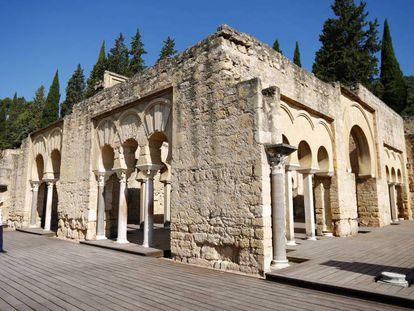 Edificio basilical del conjunto arqueológico de Medina Azahara.
