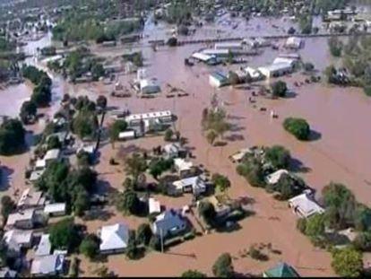 Inundada en Australia un área similar a Francia y Alemania