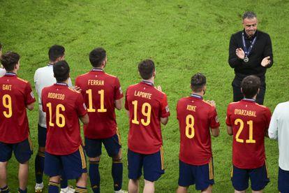 Luis Enrique, tras la final ante Francia.