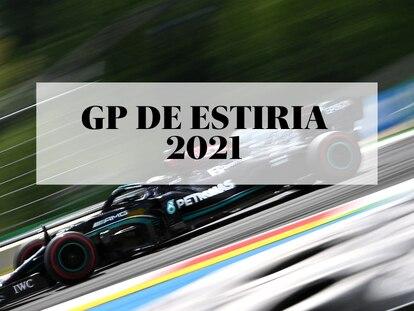 El piloto de Mercedes Lewis Hamilton en el circuito de Assen, durante los entrenamientos del GP de Estiria 2021.