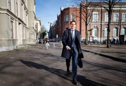 El ministro neerlandés de Finanzas, Wopke Hoekstra, en La Haya el 7 de abril.