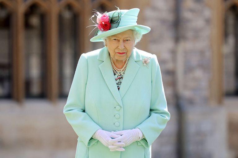 Queen Elizabeth II, last July, at Windsor Castle.