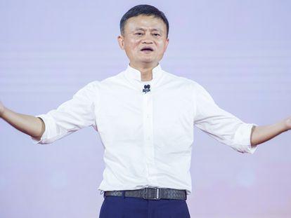 Jack Ma, fundador de Alibaba, en Hangzhou, China, en 2019.