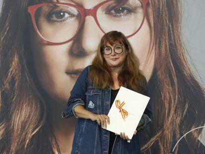 Isabel Coixet, con el Premio Nacional de Cine.