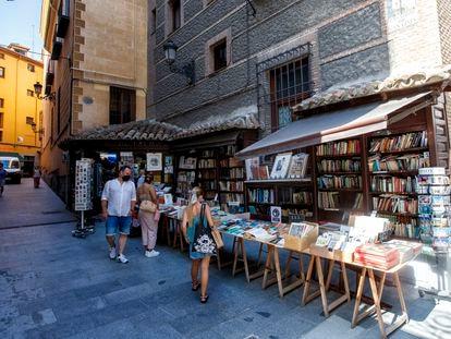 La librería San Ginés, en la calle de Arenal de Madrid tras las obras de reforma del Ayuntamiento.