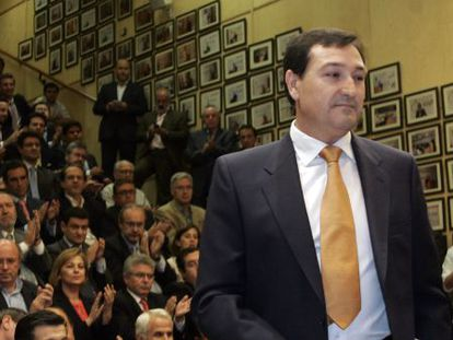 Luis Portillo, en un acto en Sevilla, en 2007