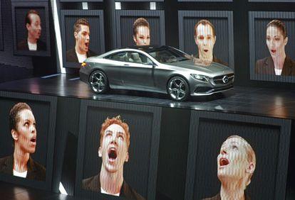 Presentación del nuevo Mercedes Clase S Coupé en el Salón de Fráncfort.