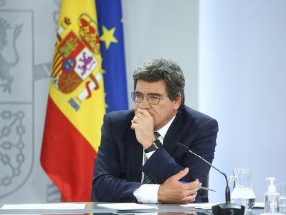 El ministro de Inclusión, Seguridad Social y Migraciones, José Luis Escrivá, el pasado 27 de mayo de 2021, en Madrid.