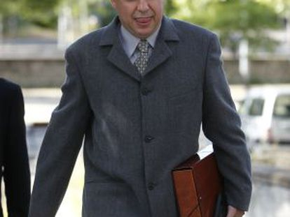 El funcionario de prisiones acusado, Miguel Ángel P. F.