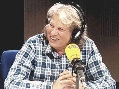 José Mercé en la Cadena SER.