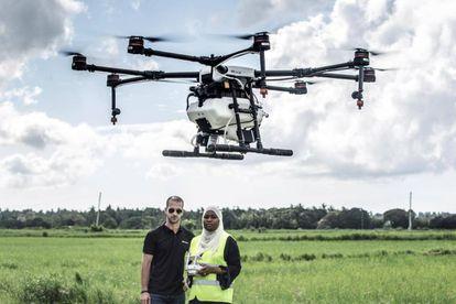 Cheju, área rural a las afueras de la capital de Zanzíbar es escenario de un novedoso proyecto piloto contra la malaria con drones.