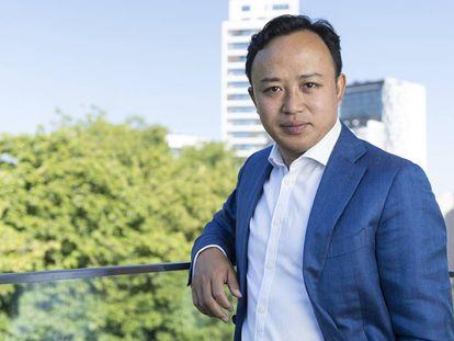 El vicepresidente de Huawei Abraham Liu.