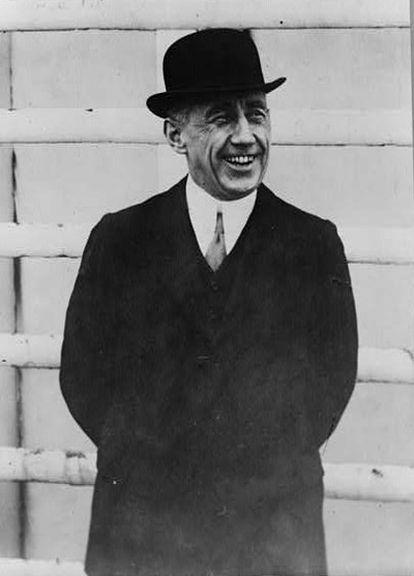 El explorador noruego, Roald Amundsen (Fotografía: Biblioteca del Congreso de EE UU).