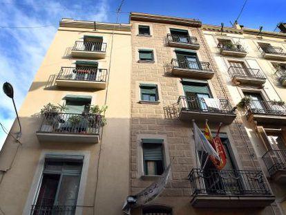Apartamentos turísticos en Barcelona.