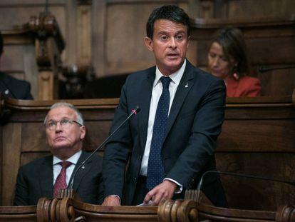 El concejal de Barcelona y ex primer ministro francés Manuel Valls.