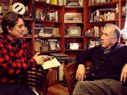 Luis García Montero conversa con Joan Margarit.