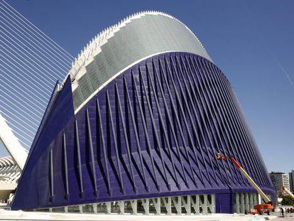 El edificio del Ágora, en Valencia.